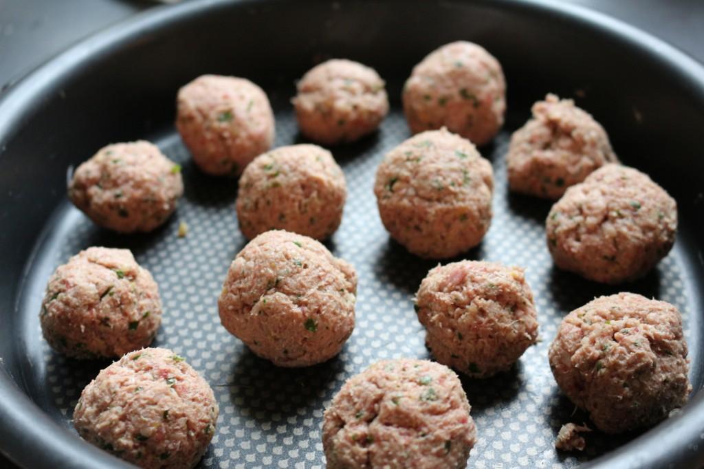 meat balls / Boulettes de viande