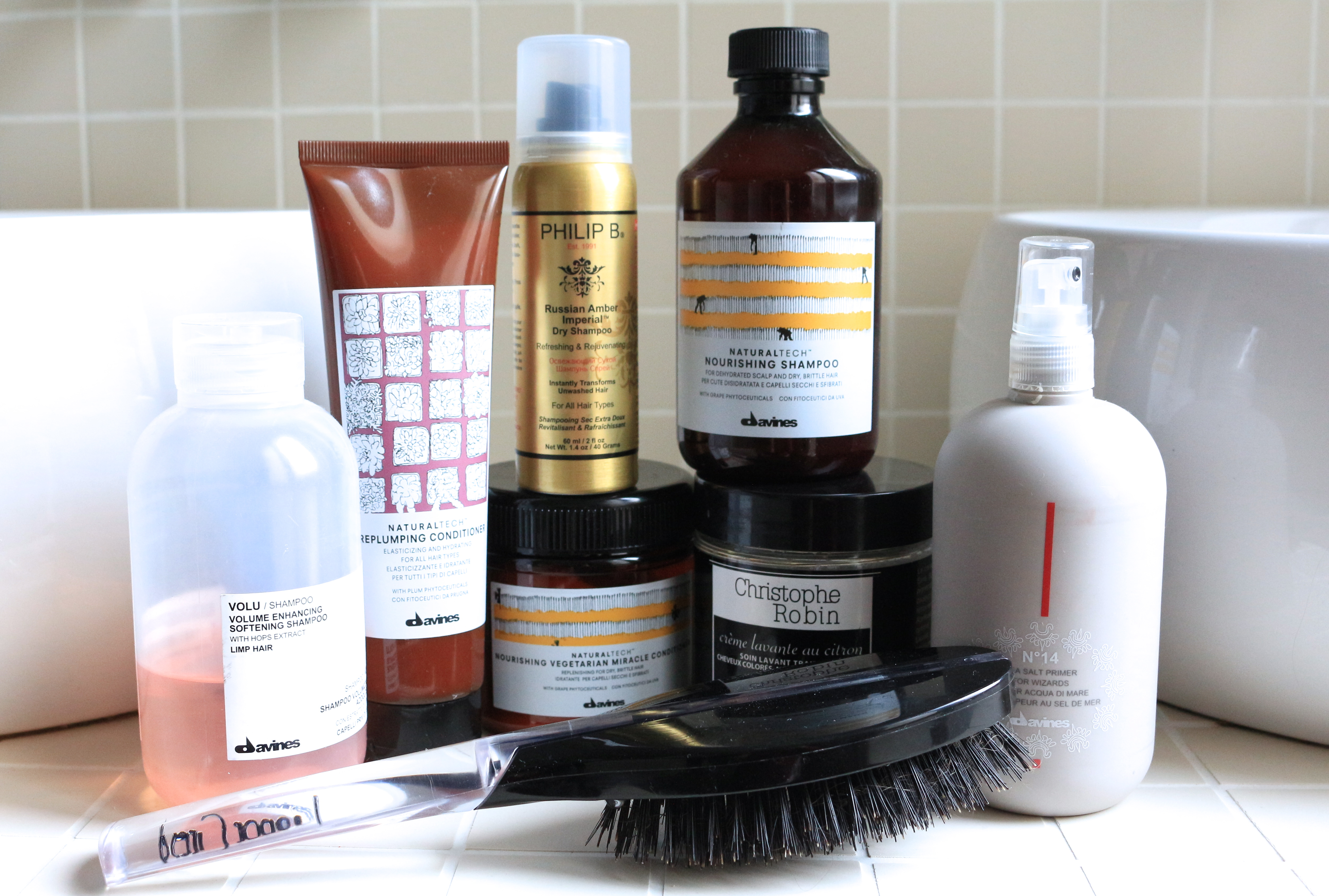 Soin des cheveux : Davines, Christophe Robin, Philip B. / Hair care