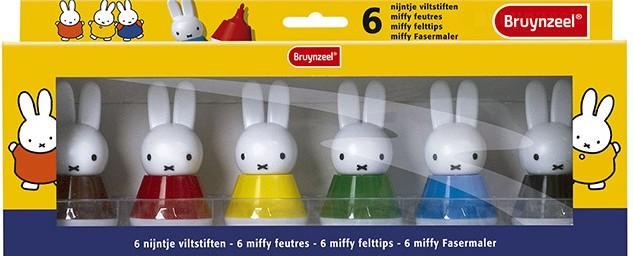 Miffy feutres / Miffy felt-pens