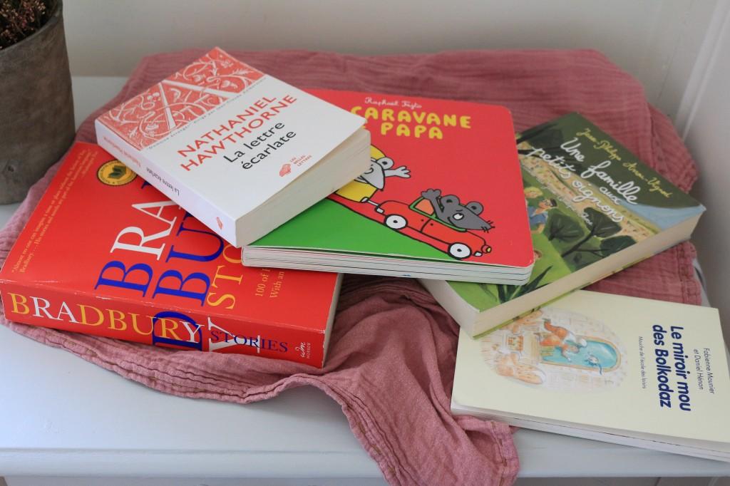 sélection de livres adultes et jeunesse