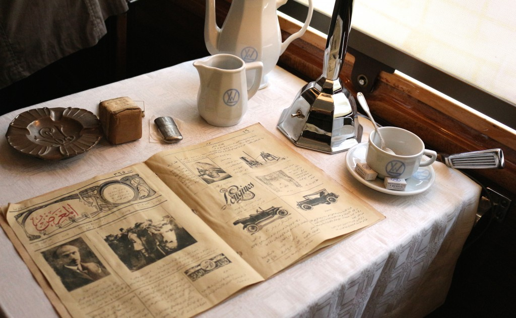 exposition Il était une fois l'Orient Express à L'Institut du Monde Arabe