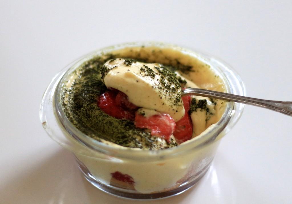 tiramisu au thé matcha