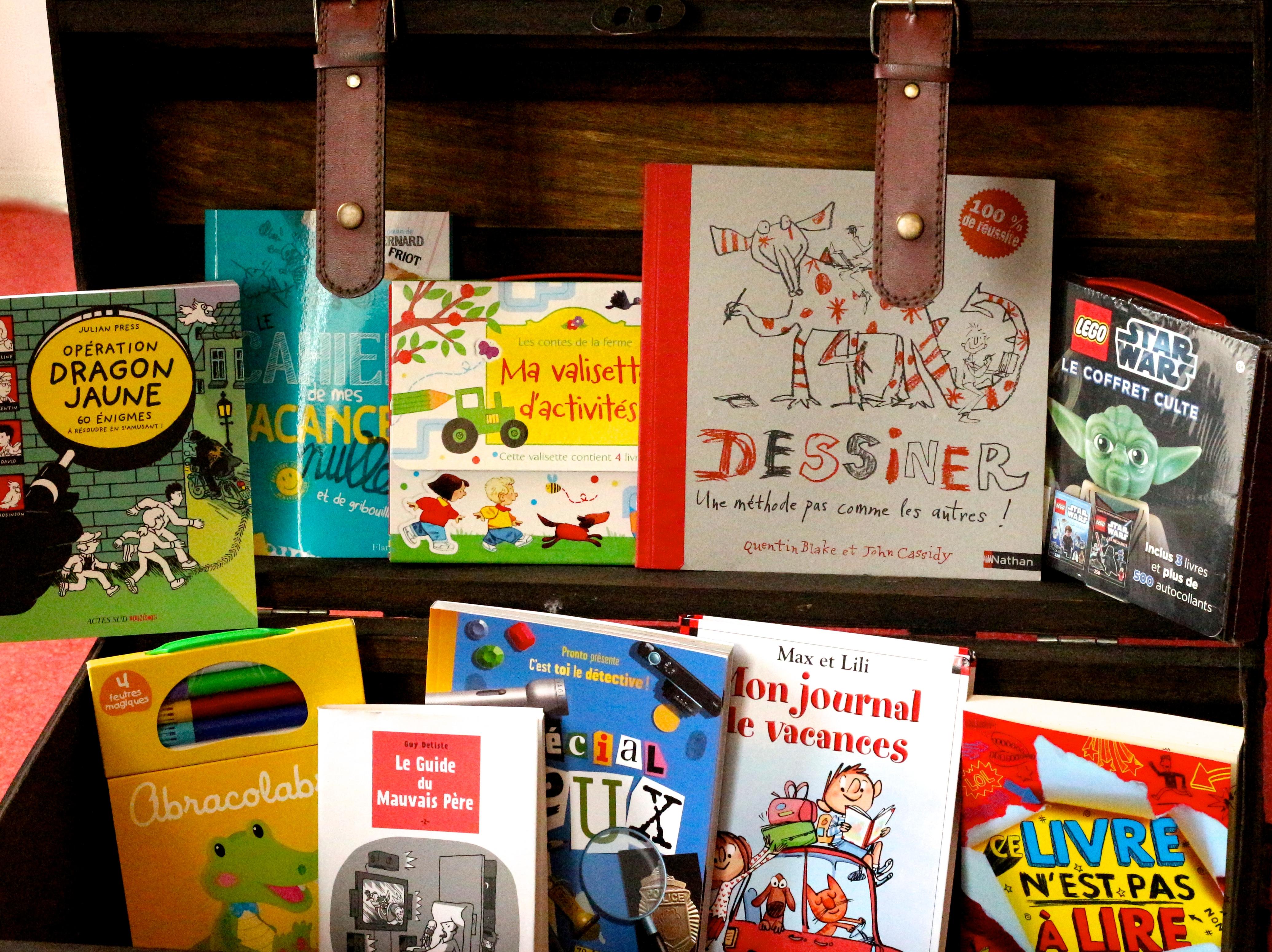 Sélection livres enfants pour les vacances