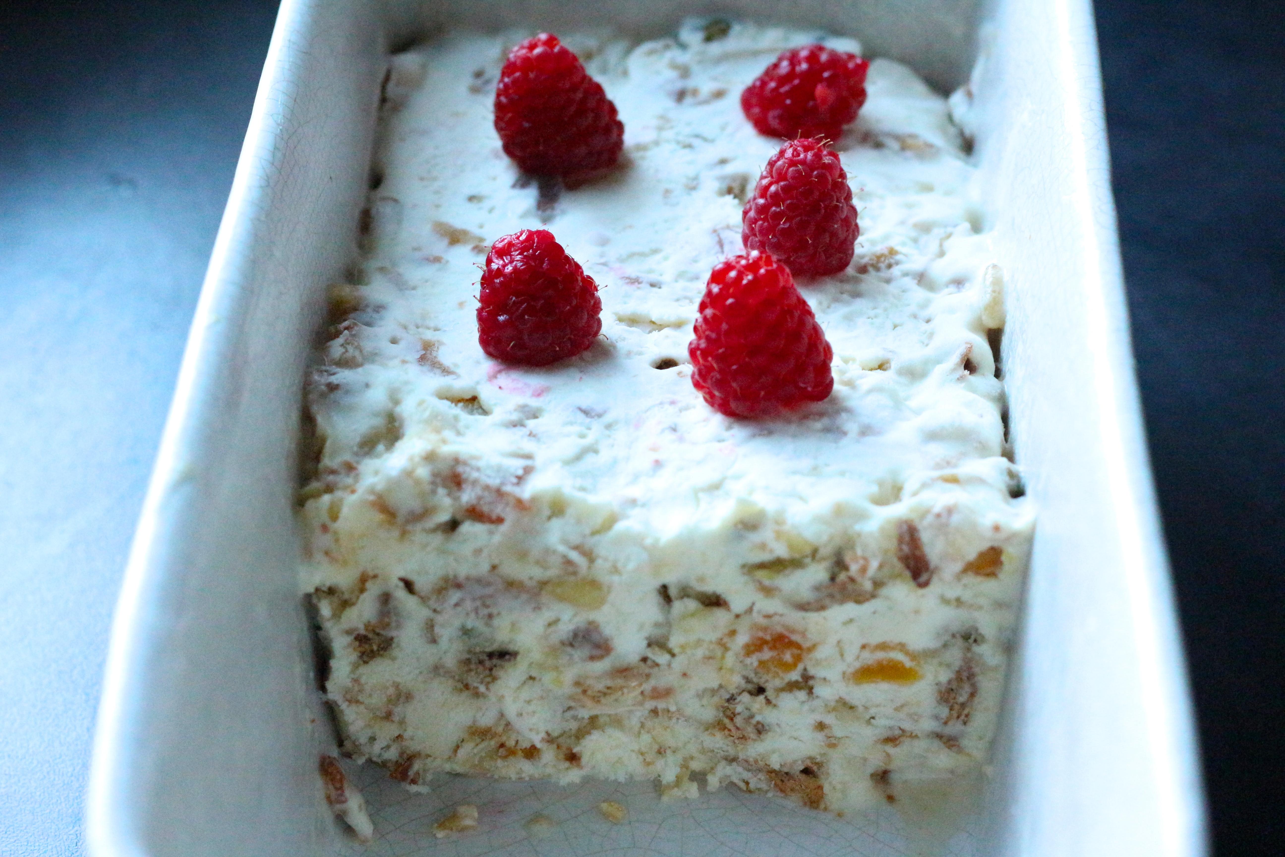 Recette facile du Nougat Glacé _ Iced nougat easy recipe