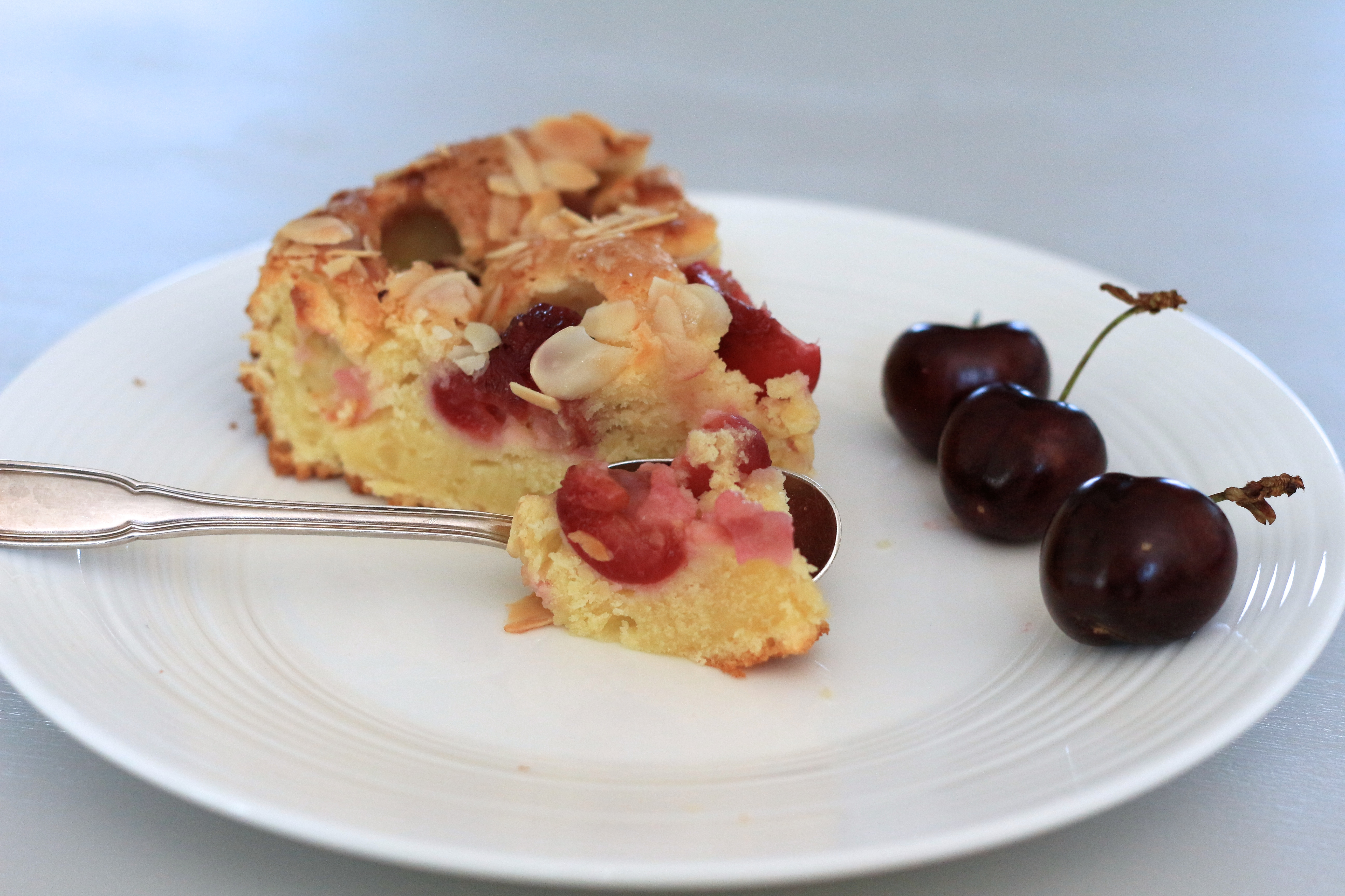 Friday cake #14 : moelleux cerise & ricotta