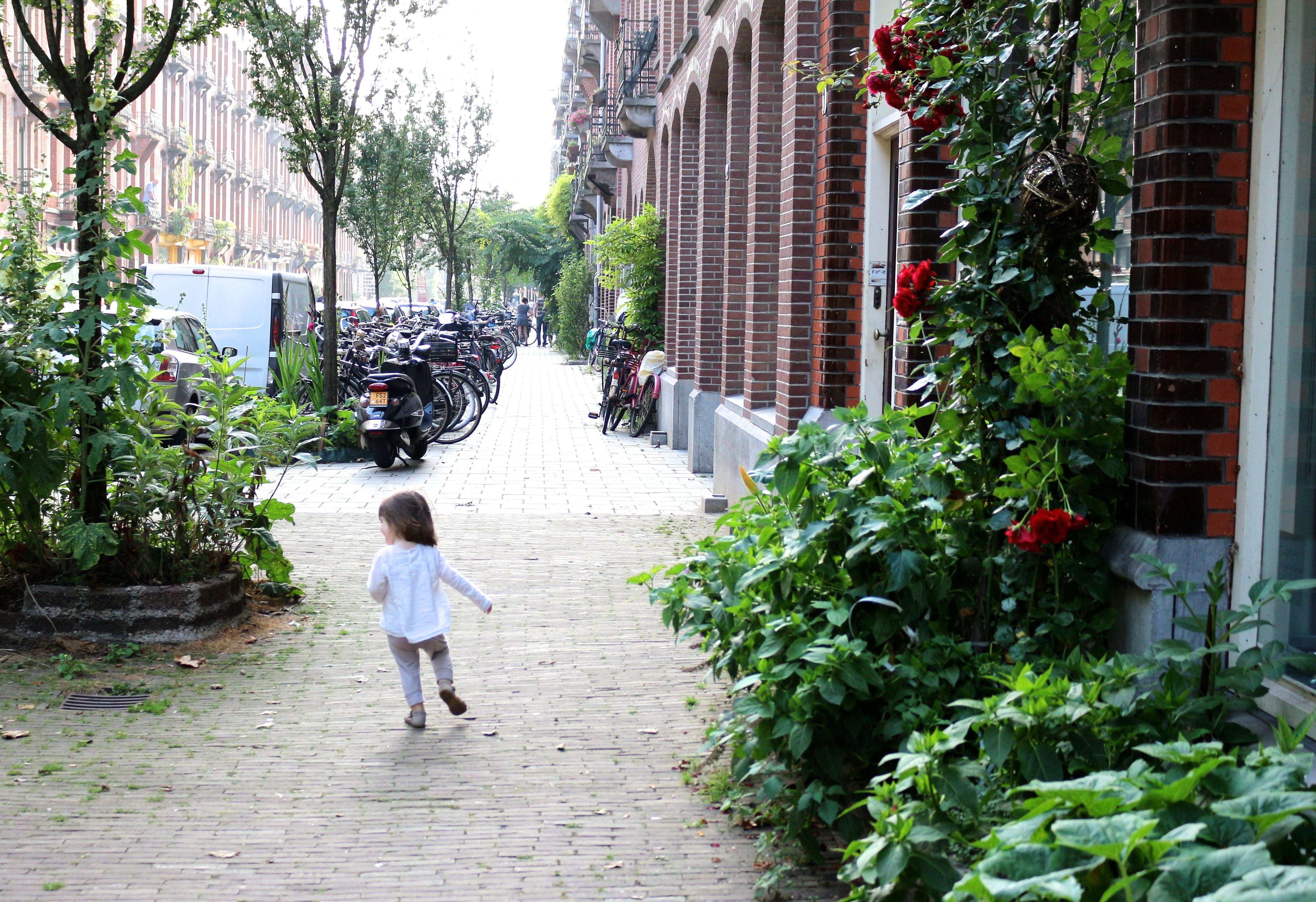 Amsterdam - quartier de Pijp - Sweet Cabane