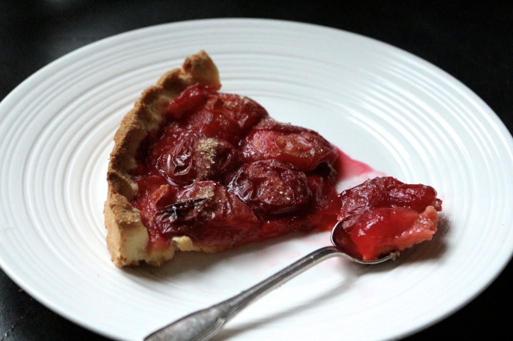 tarte sablée aux prunes - Sweet Cabane