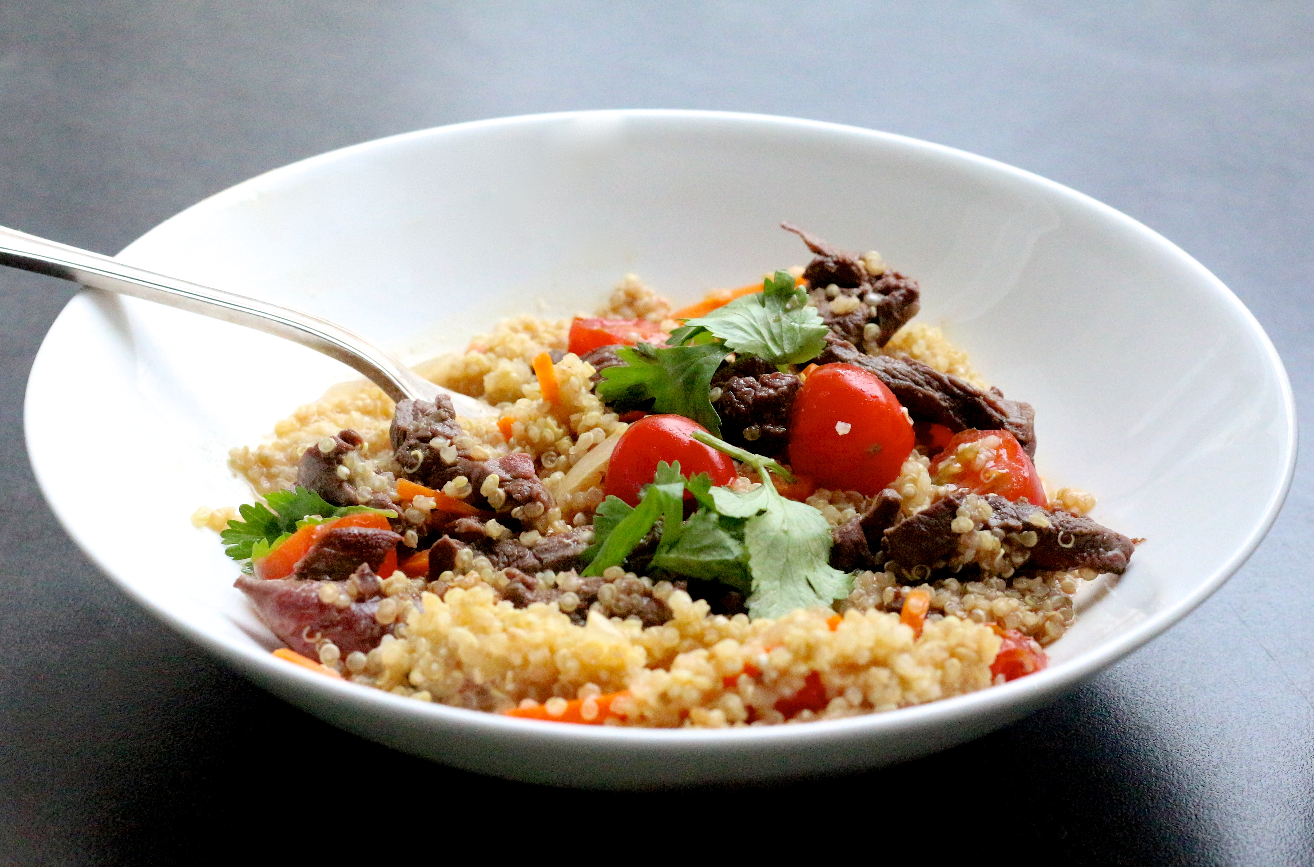 wok de quinoa - Sweet Cabane