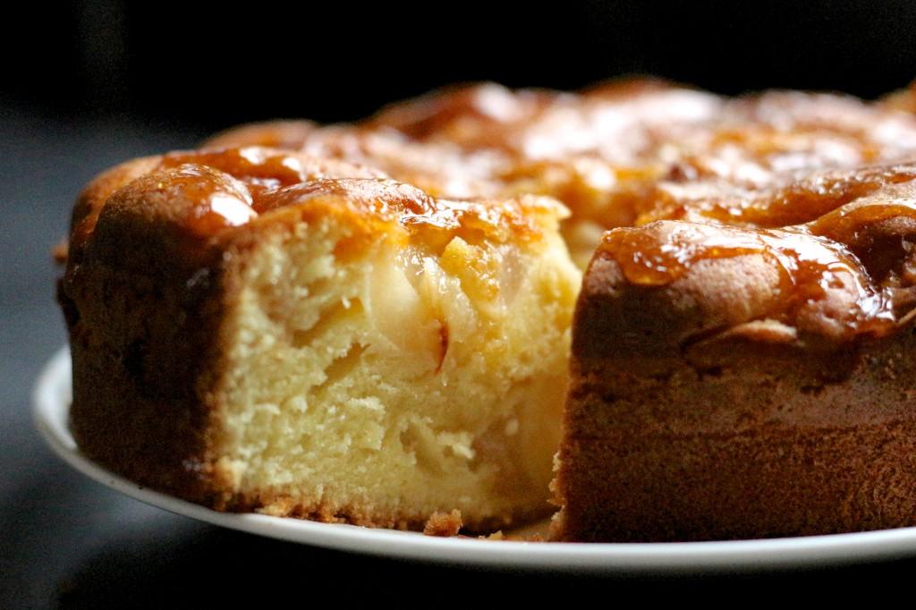 Gateau poires et caramel / Pears & toffee cake - Sweet Cabane