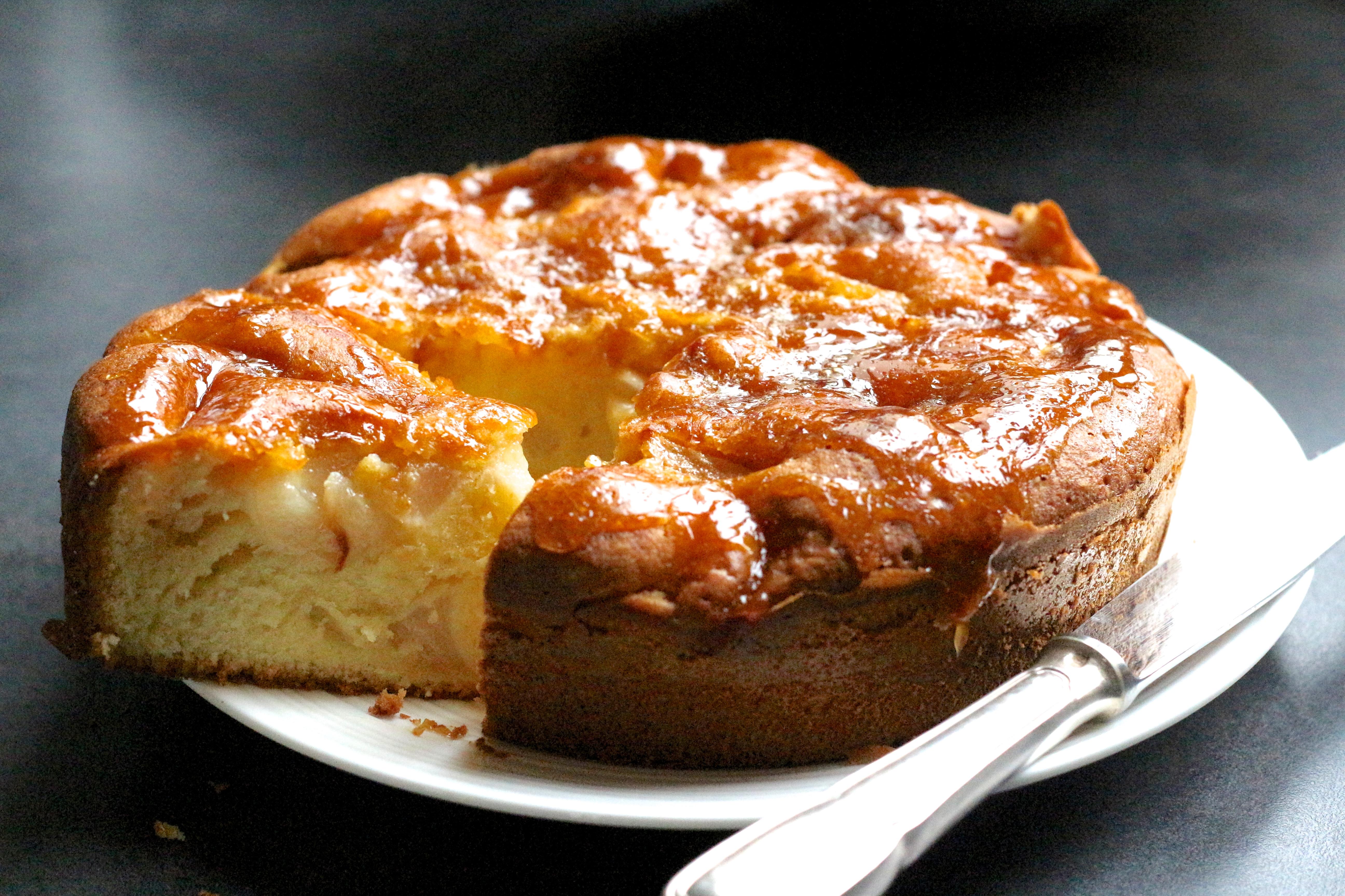 Sweet Cabane - gâteau poires & caramel