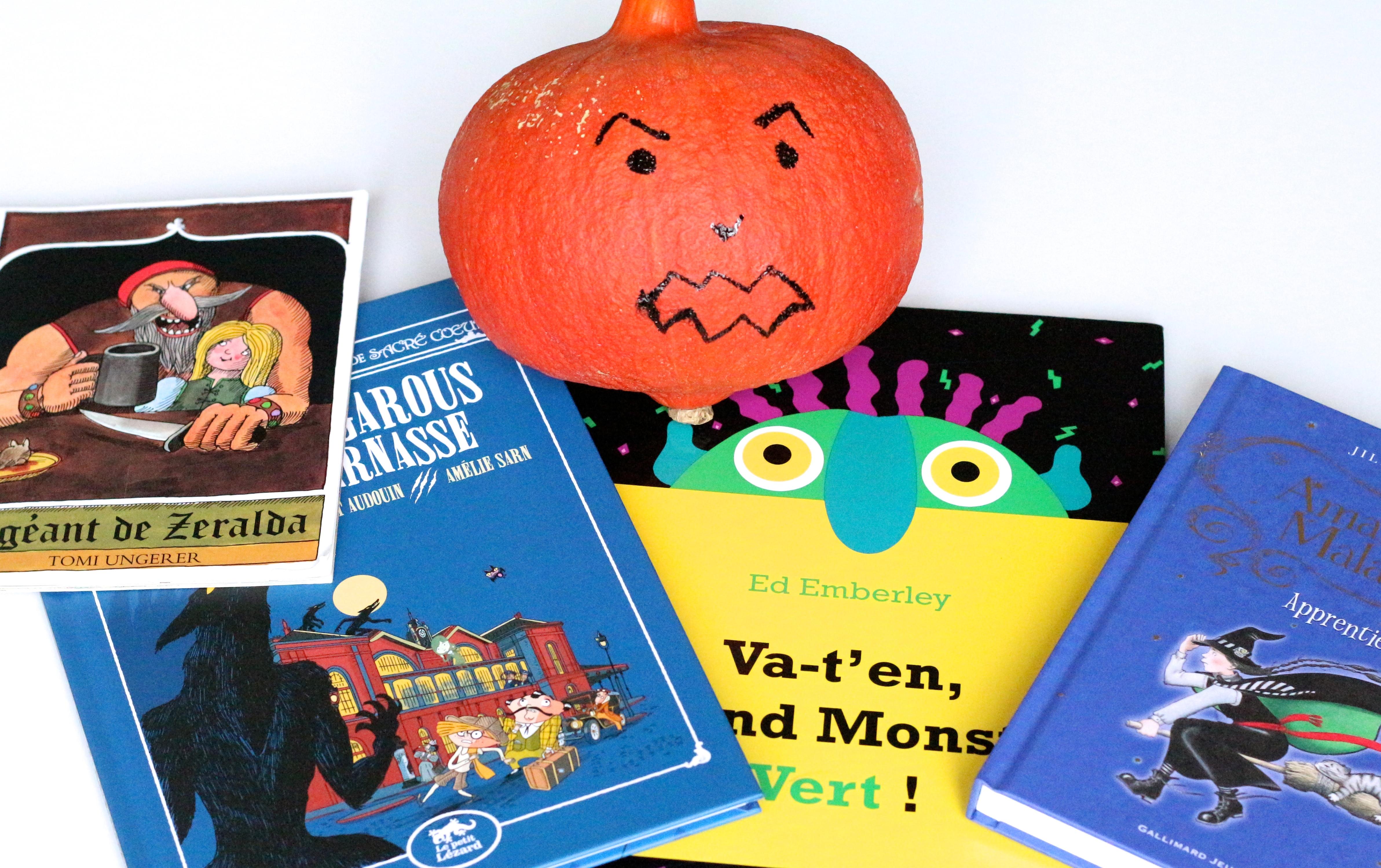 Sélection livres enfants halloween - Sweet cabane
