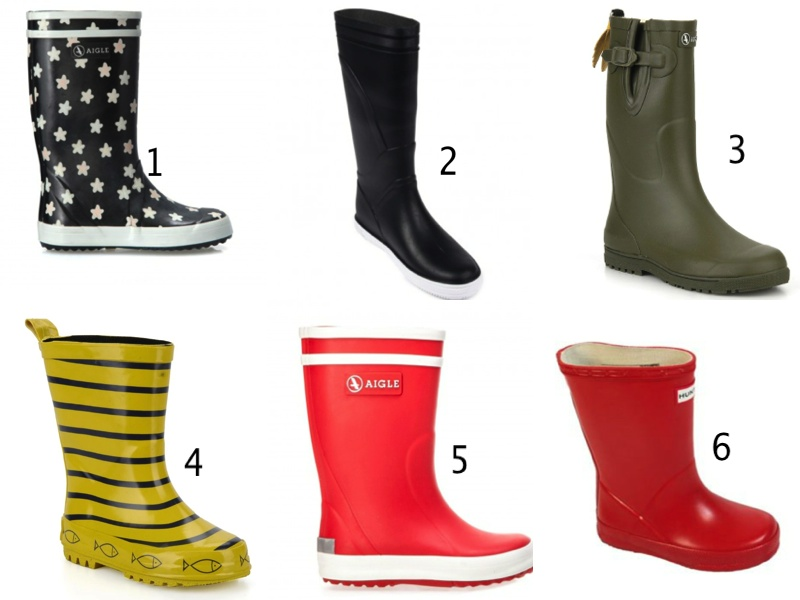rainboots for Sweet Cabane : Aigle, Hunter, Meduse