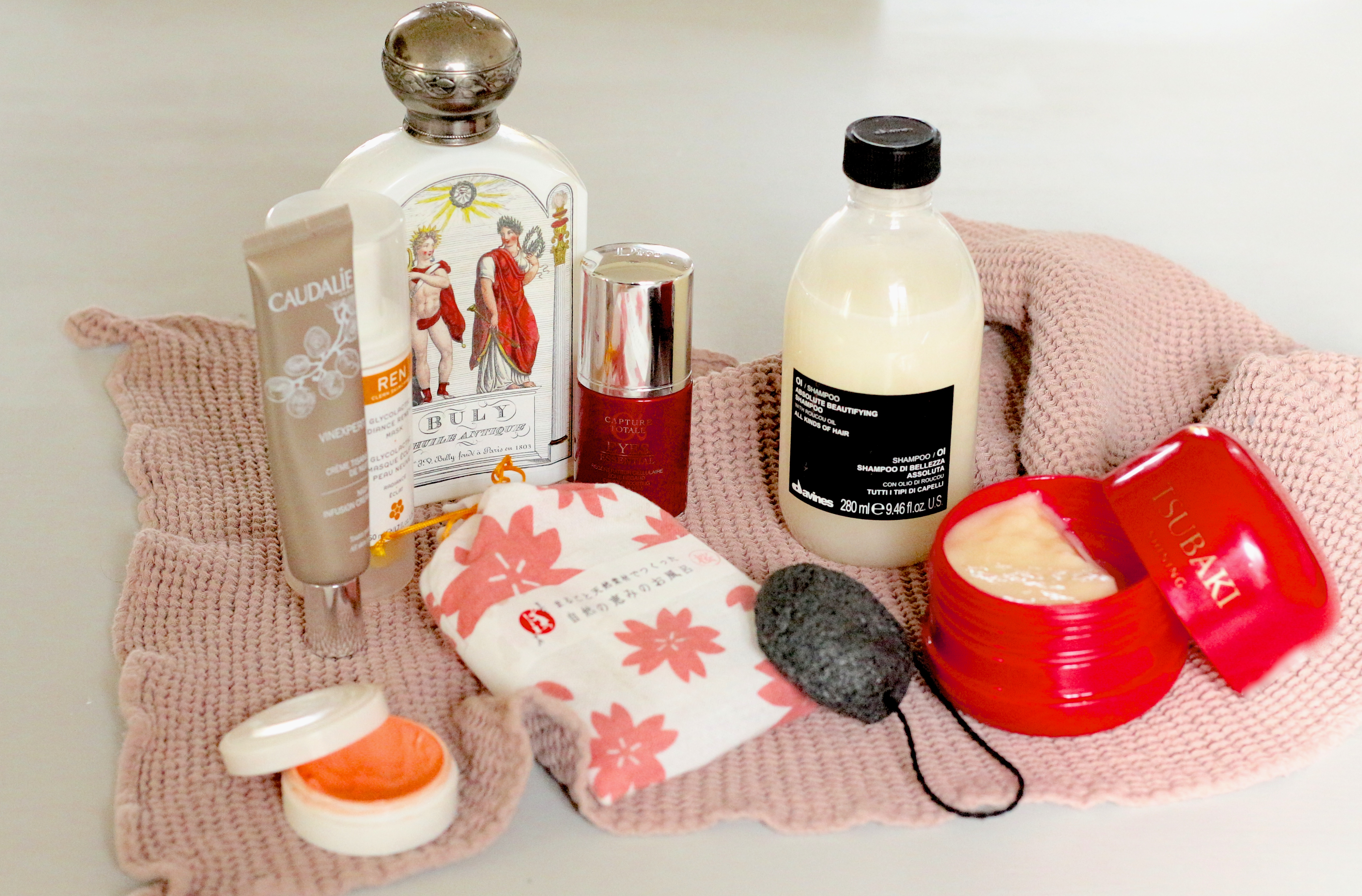 beauté cocooning  : Buly, Davines, Dior, Caudalie -  Sweet Cabane