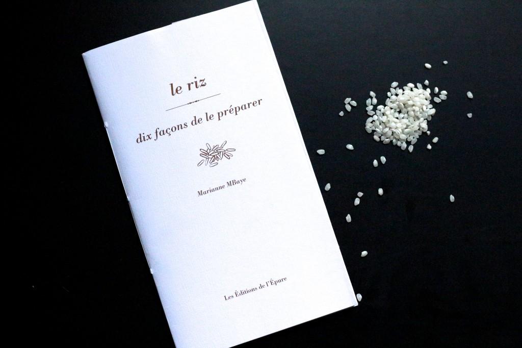 Dix façons de préparer le riz - Editions de l'Epure - Sweet Cabane - scleshop