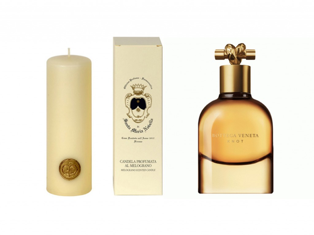 Bottega Veneta Knot et Santa Maria Novella candle - Sweet Cabane
