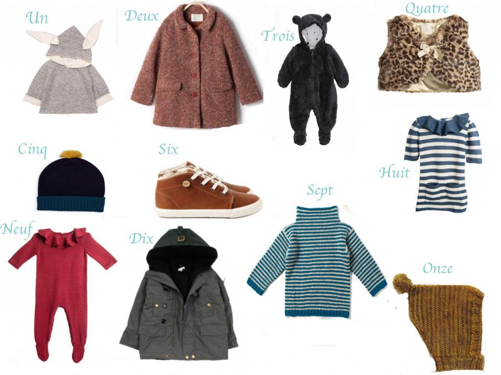mode hiver : babaà, waddler clothing, misha *puff, zen, bonton, faguo, h & m, oeuf NYC