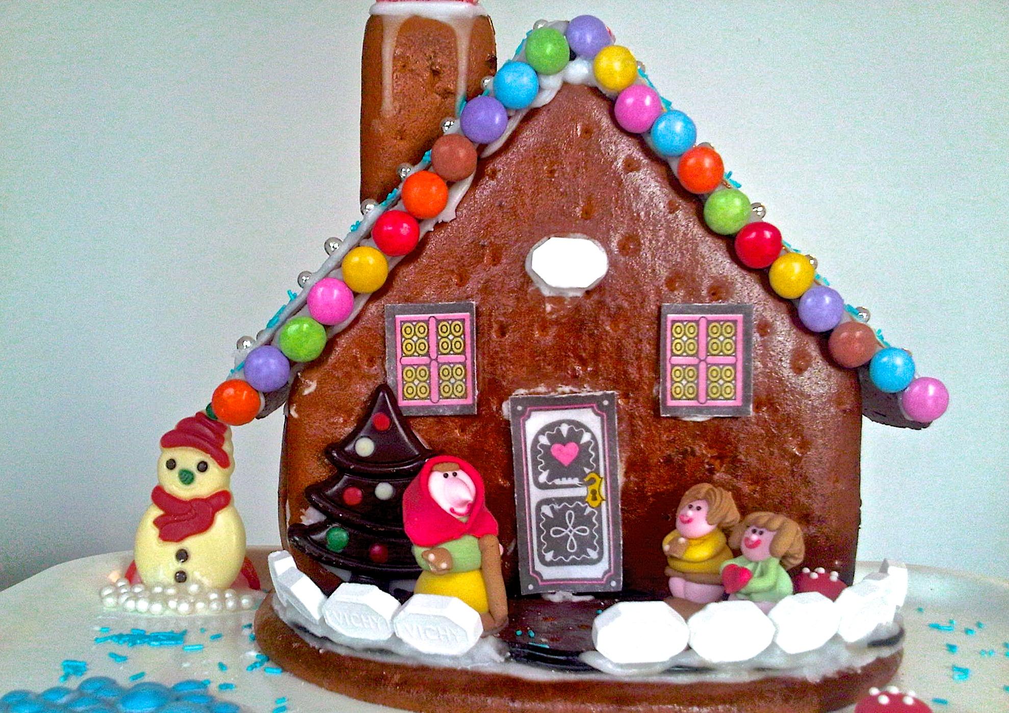 gingerbread house - Sweet Cabane