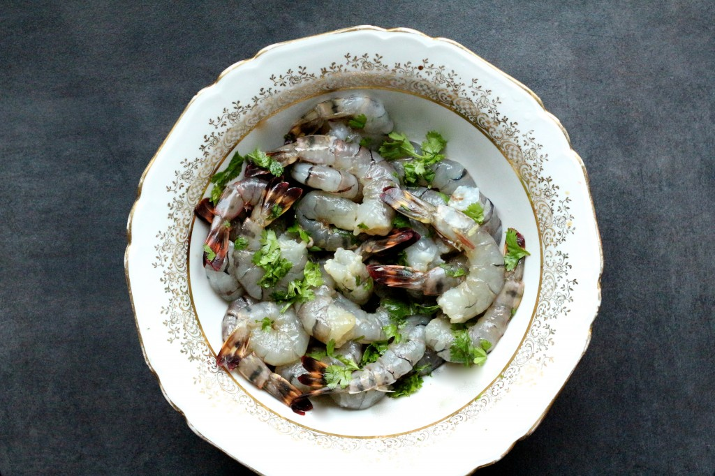 Easy meal #15 : beignets de crevettes au citron vert et à la coriandre