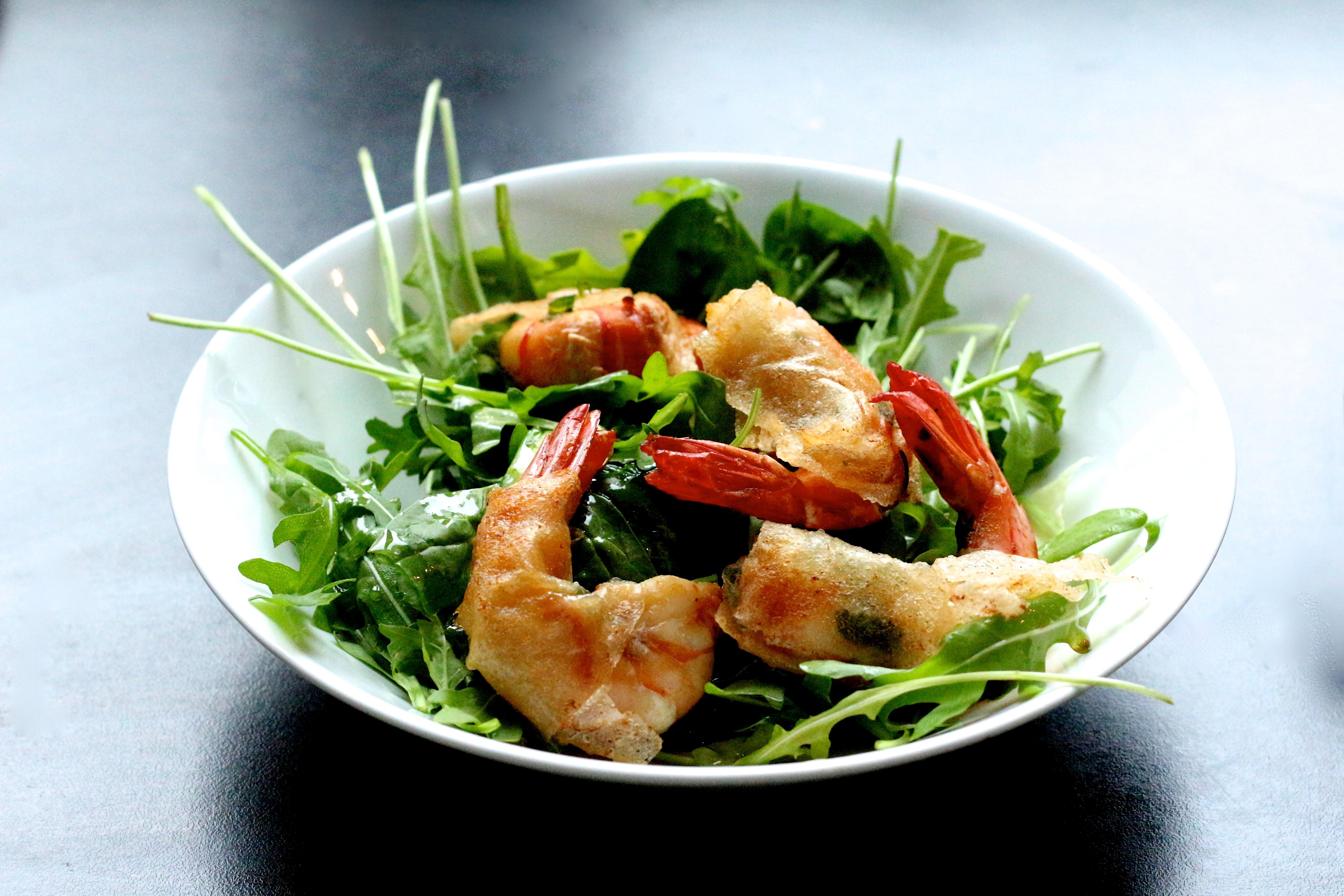 Sweet Cabane - Easy meal #15 : beignets de crevettes au citron vert et à la coriandre