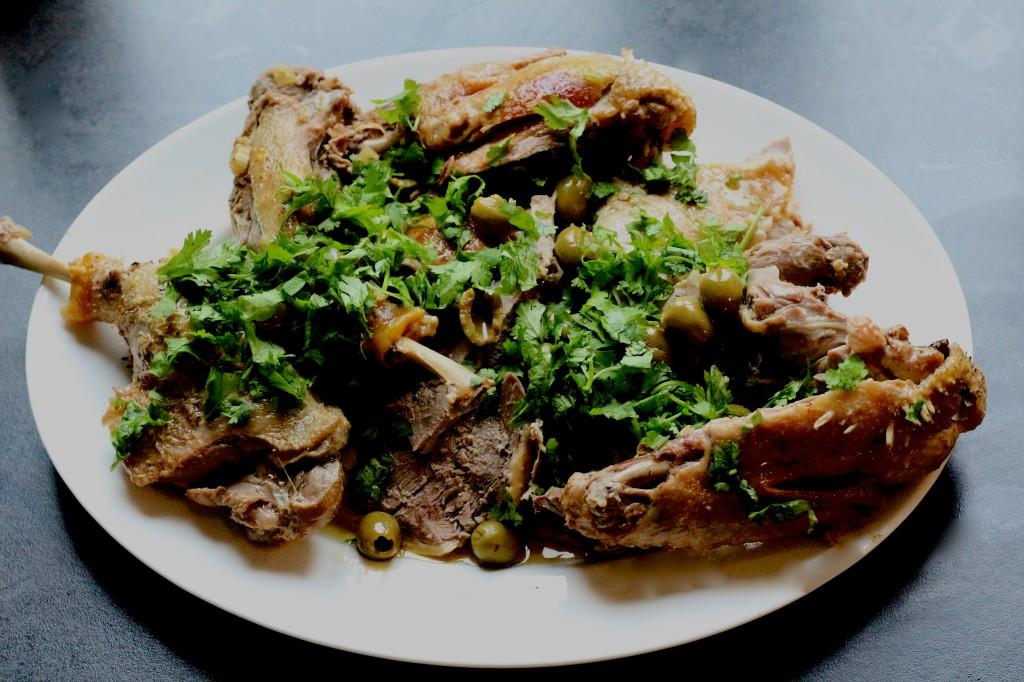 Canard mariné au yaourt et à la coriandre - Sweet Cabane