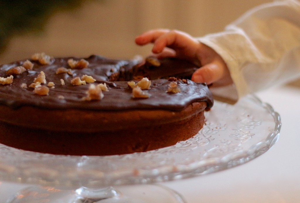 moelleux chocolat et marrons - Sweet Cabane