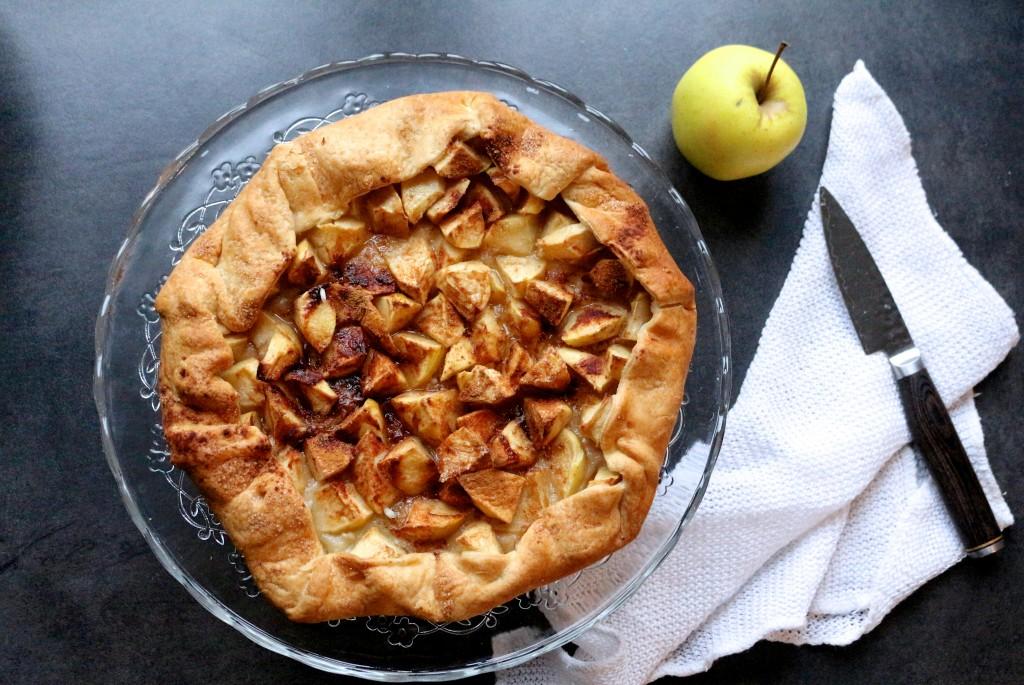 tarte aux pommes : recette facile - Sweet Cabane