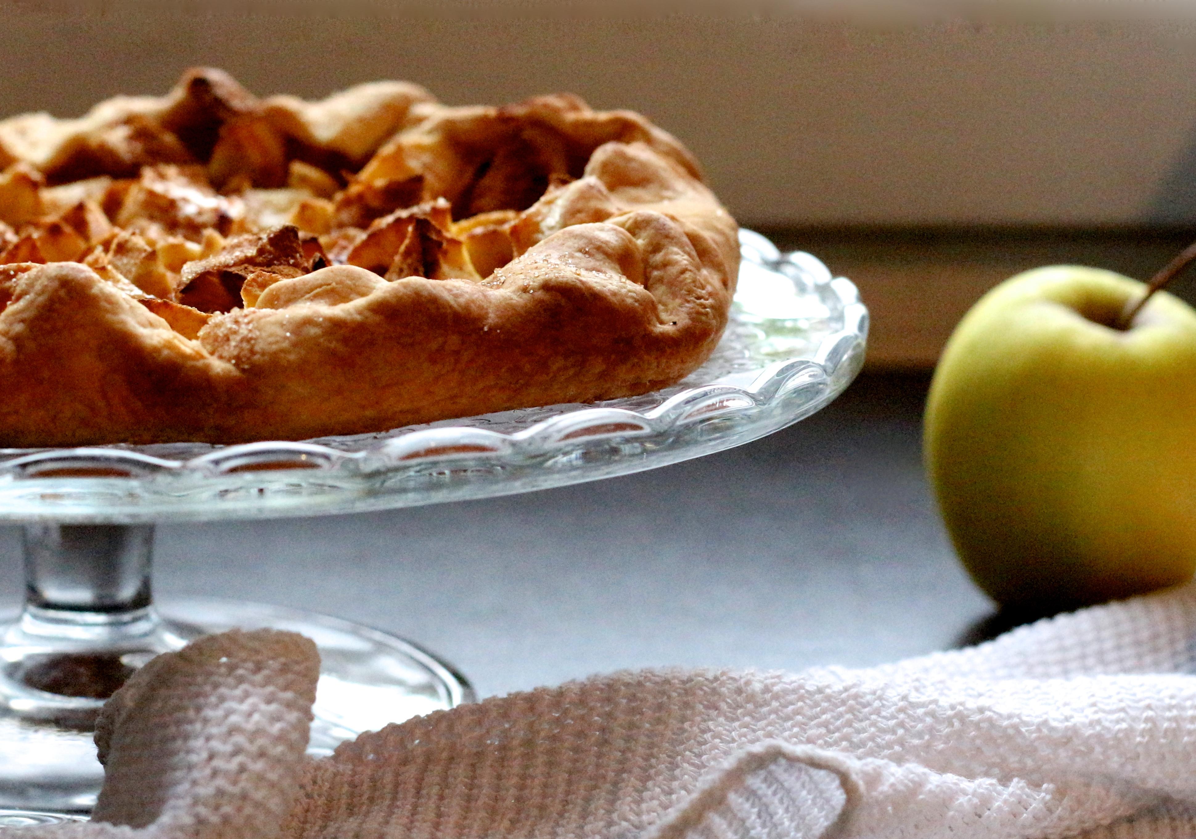Tarte aux pommes -Sweet Cabane