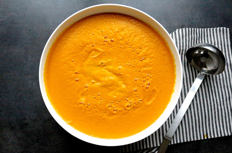 Sweet Cabane - soupe potimarron, carotte et patate douce