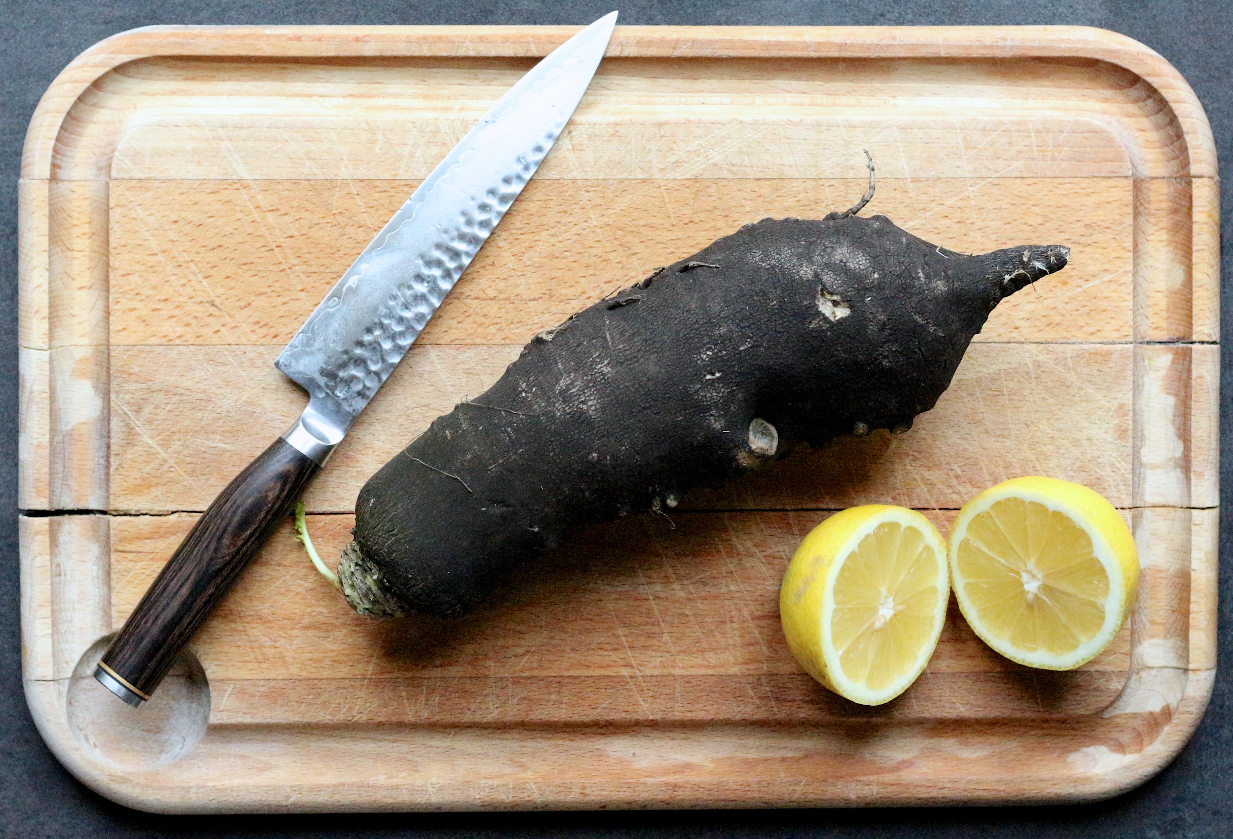 recettes radis noir - Sweet Cabane