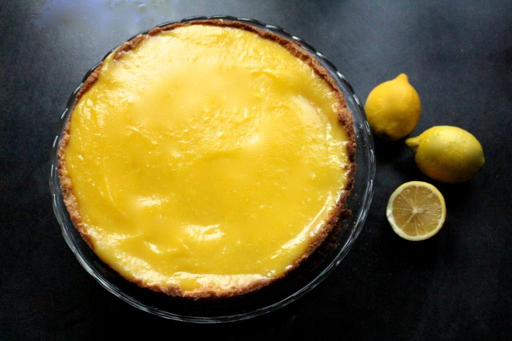tarte au citron sans cuisson - Sweet Cabane