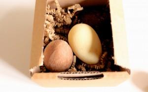 Egg box, L'Eclair de Génie, Christophe Adam