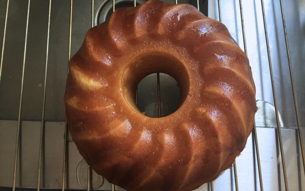 Lemon sponge cake - Sweet Cabane