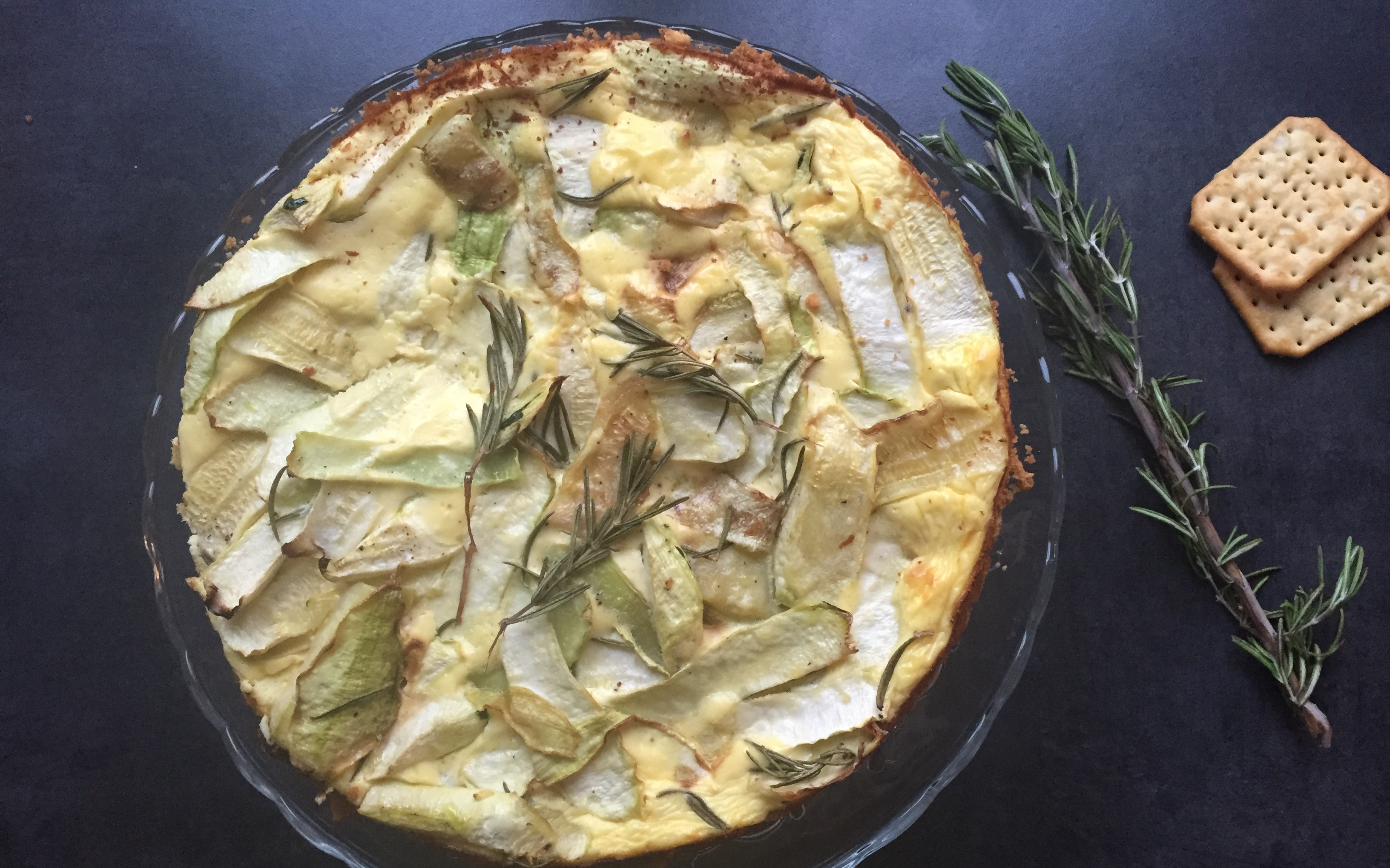 courgettes cheesecake - Sweet Cabane