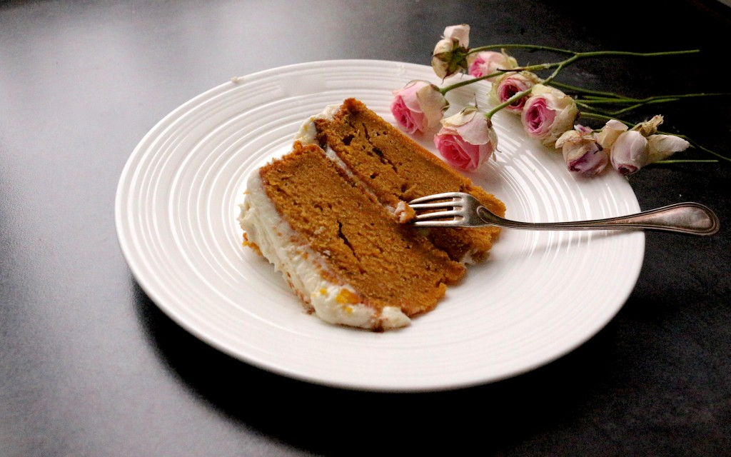 Friday cake #38 : Pumpkin cake