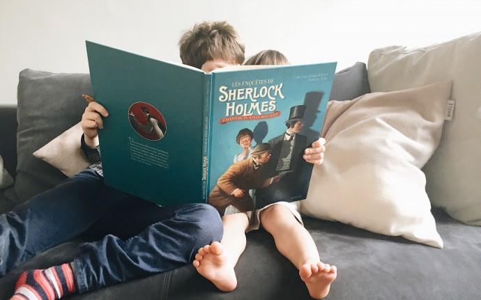 Sherlock Holmes, Sweet Cabane