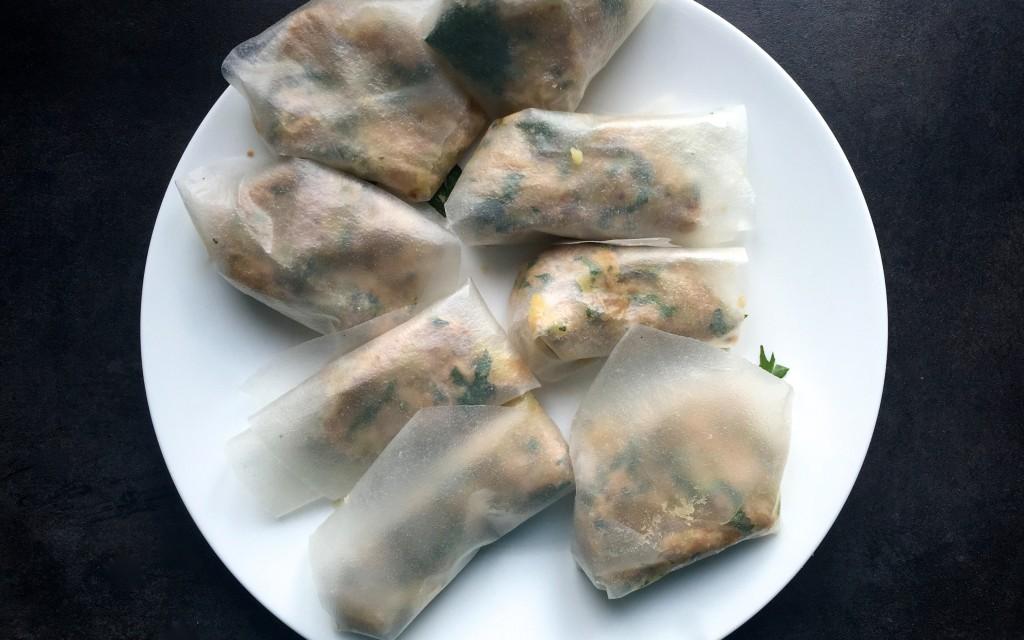 Easy meal : briques au thon et à l'oeuf