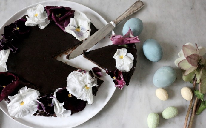 tarte au chocolat de p ques sweet cabane. Black Bedroom Furniture Sets. Home Design Ideas