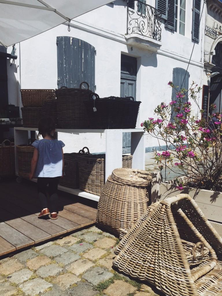 Les jolies boutiques de paniers - crédit photo : Sweet Cabane