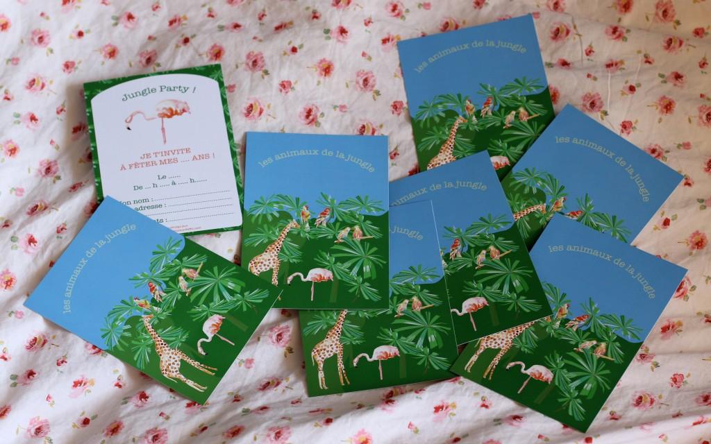 Cartons d'invitation thématiques / crédit photo : Sweet Cabane