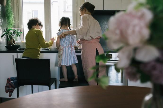 crédit photo : Ernestine et sa famille
