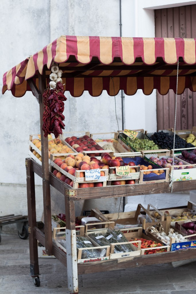 Fruits and vegetable from Salento