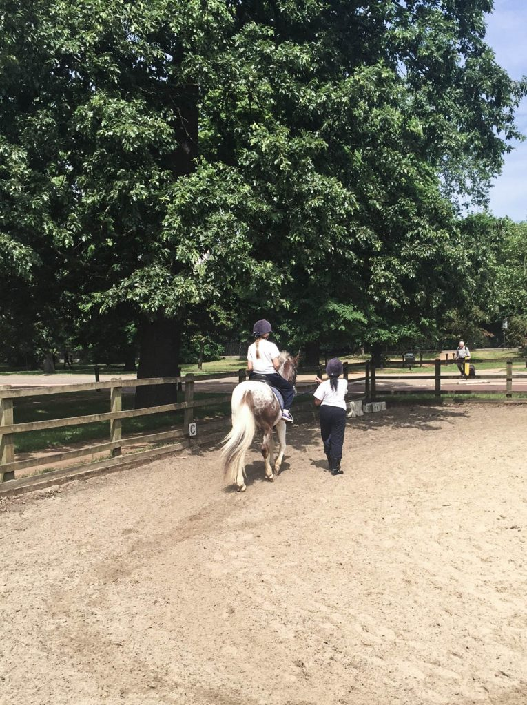 Horse-riding in Hyde Park