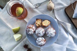 Thé d'automne et madeleines miel&citron