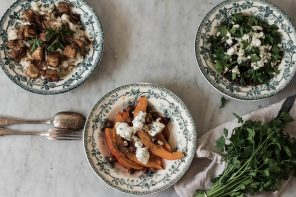 Three Winter salads